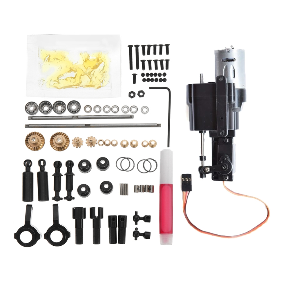 WPL Op Accessory And Change Speed Gear Box For WPL B-1 B-24 B-16 C-24 1/16 4WD 6WD RC Car Parts