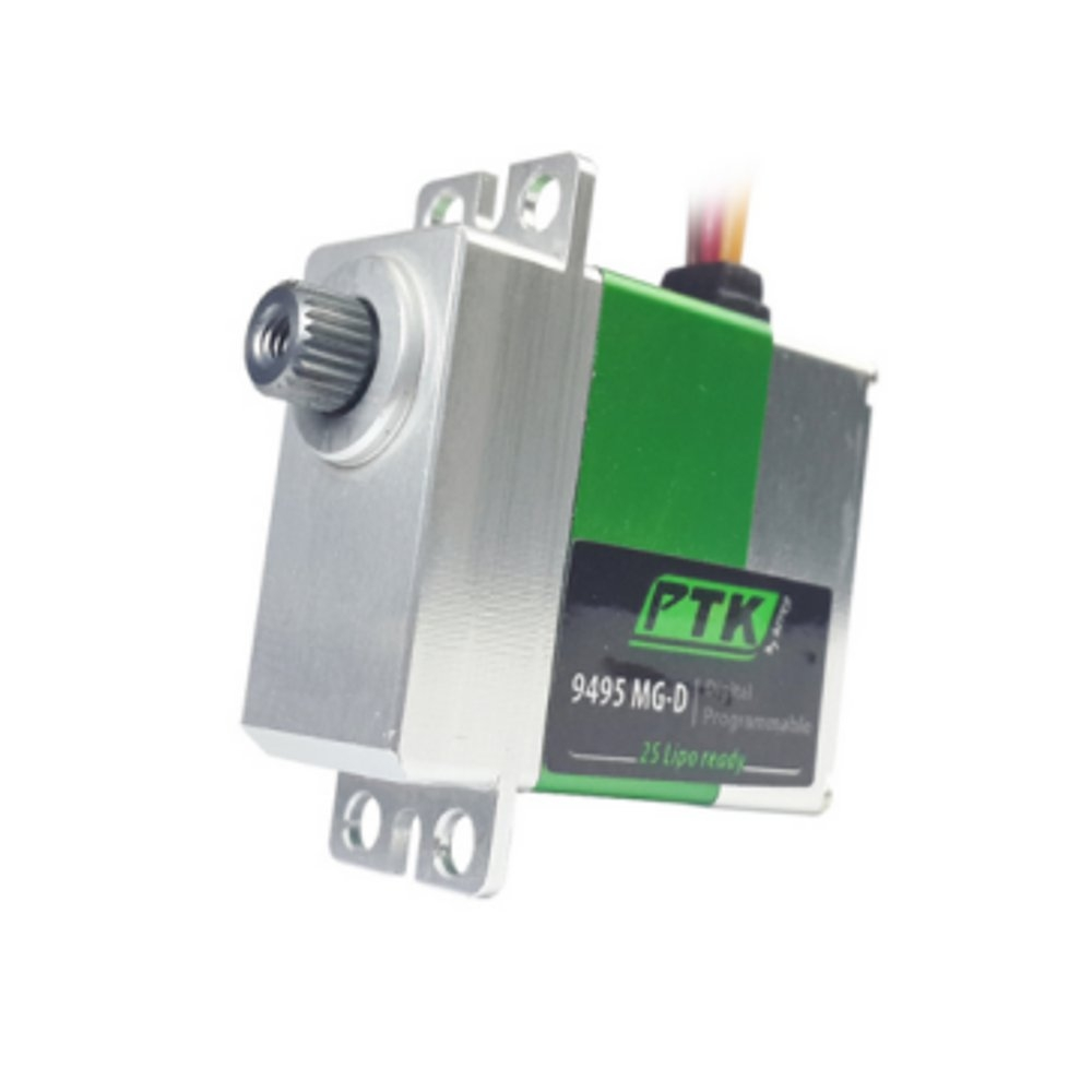Pro-Tronik PTK 9495 MG-D 19.2g 4.8kg/0.06s Metal Gear Digital Servo Coreless For RC Airplane 450 Class Helicopter