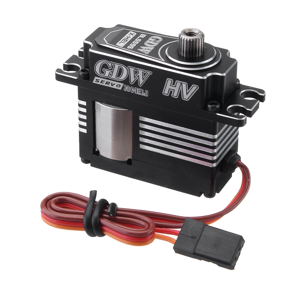 GDW BLS595HV 7KG HV Brushless Metal Gear Head-Locking Digital Servo for 500 520 420 Class RC Helicopter