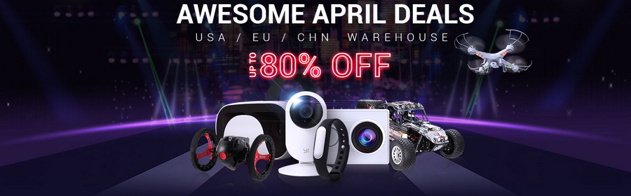 Rc April promotions - Get your stuff