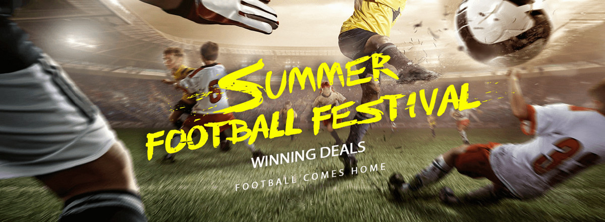 Summer Footbal Festival - winning deals at GearBest