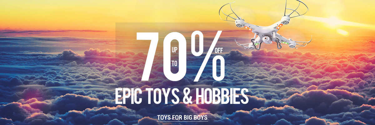 Epic toys and Hobby stuff sale