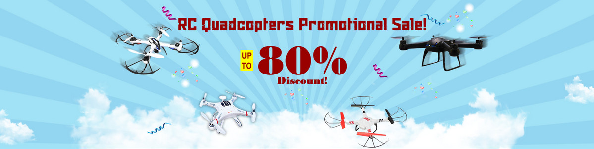 Don't miss RC promotional sale