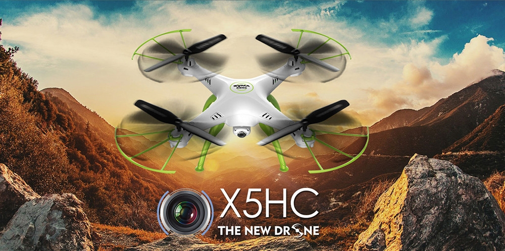 Syma X5HC 2 Mega Pixel Camera 2.4G now Available