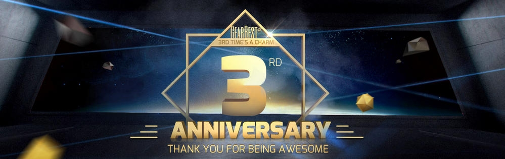 Get ready for 3rd Anniversary sale