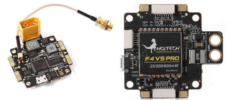HGLRC F4 V5PRO Flight Controller with VTX