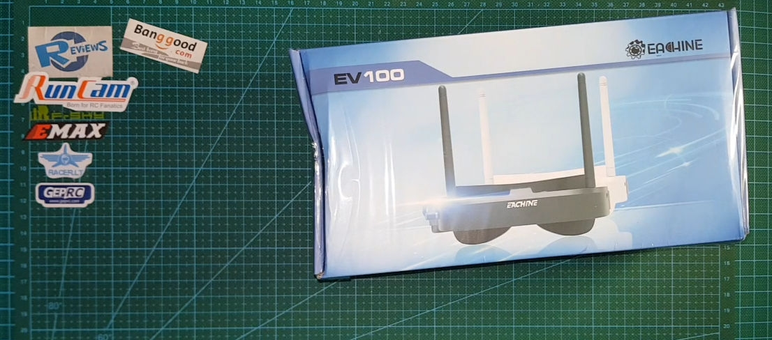 Ev100 goggles best FPV entry level at low price