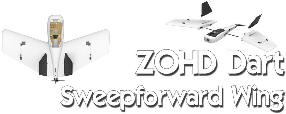 ZOHD Dart Sweepforward Wing 635mm