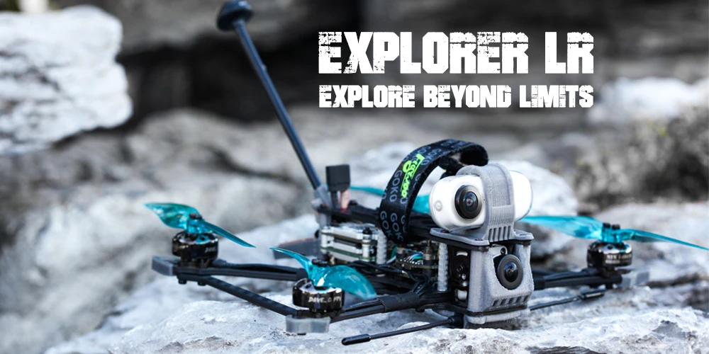 Sub 250gr Long range Flywoo Explorer LR HD 4'' 4S Micro Quadcopter