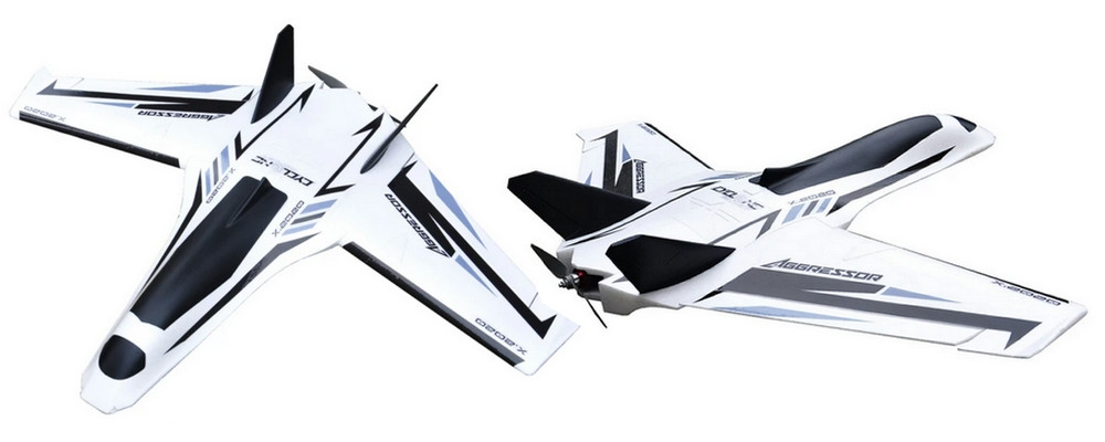 New Aggressor 1200mm x 900mm long range FPV wing