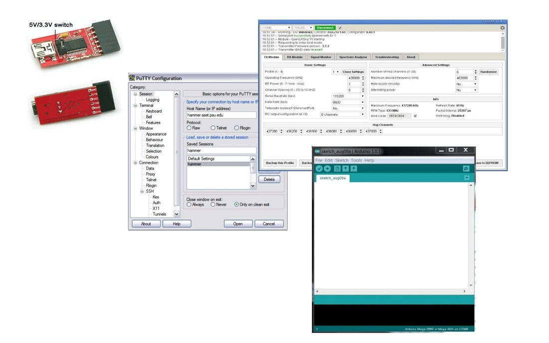 HowTo: APM Mavlink Telemetry displayed on Turnigy 9XR screen using